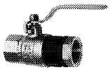 Изолирующее соединение с шаровым газовым краном