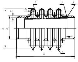 линзовый компенсатор КЛО схема