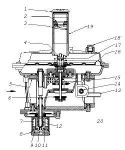 Регуляторы давления газа RG/2MB, RG/2MB MIN, RG/2MB MAX