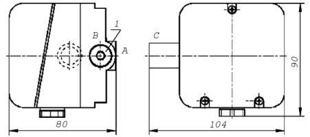 Датчик реле давления типа ДРД-Н ДРД-Т