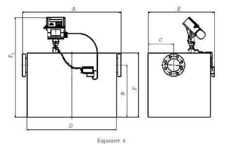 Измерительный комплекс СГ-ЭК схема вид
