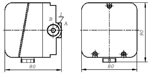 Датчик-реле давления типа ДРД-Н, ДРД-Т