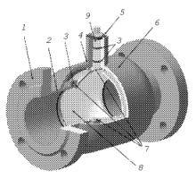 Стальной шаровой кран LD КШЦ схема