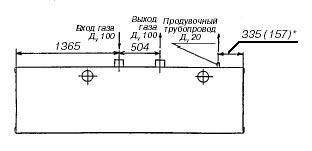 Пункт учета расхода газа ПУРГ-800(-ЭК), ПУРГ-1000(-ЭК), ПУРГ-1600(-ЭК), ПУРГ-2500(-ЭК)