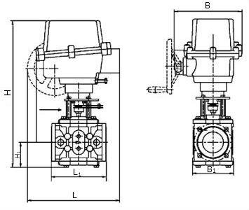 заслонки регулирующие взрывозащищенный привод термобрест схема